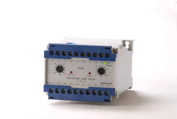 T2100 Excitation Loss Relay SELCO USA