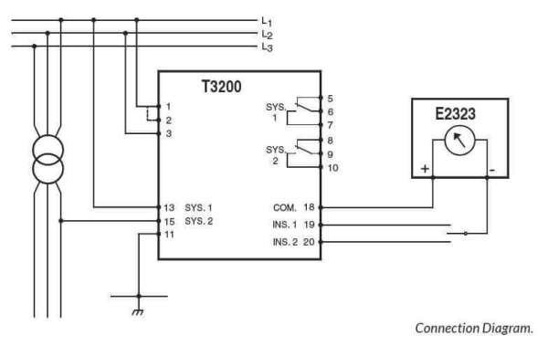 T3200 Connection Diagram SELCO USA