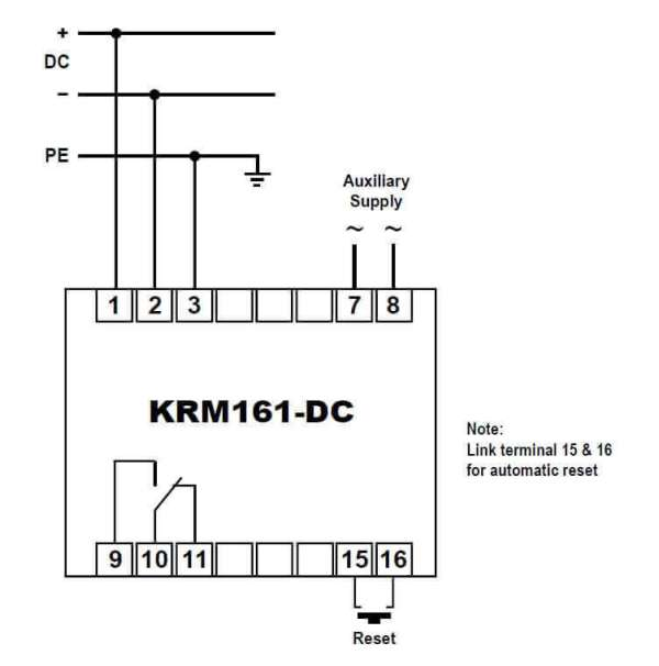 KRM161-DC Connections SELCO USA