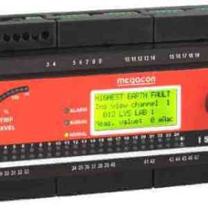ISOPAK112 AC Ground Fault Monitor, Output Relay, Analog Output (12 Channels)