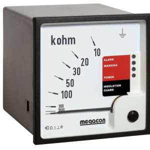 KPM161FQ Insulation Monitor, System Voltage up to 1.4kV with Non-Latching Output, Analog Output, Special for Frequency Converter Systems