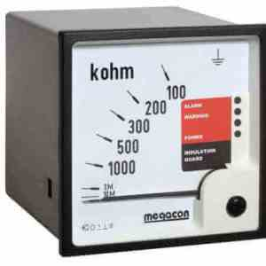 KPM163M Insulation Monitor, System Voltage up to 6.6kV, Output Relays, DC Detection, Optional Analog Output