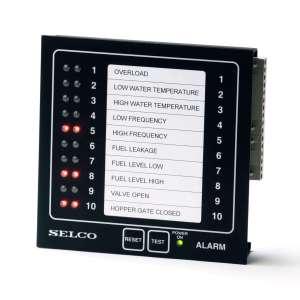 M1000 Alarm Monitor, 24VDC, 10 Channel, RS485-Modbus