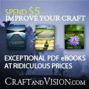 Craft and Vision -- exceptional PDF eBooks at great prices