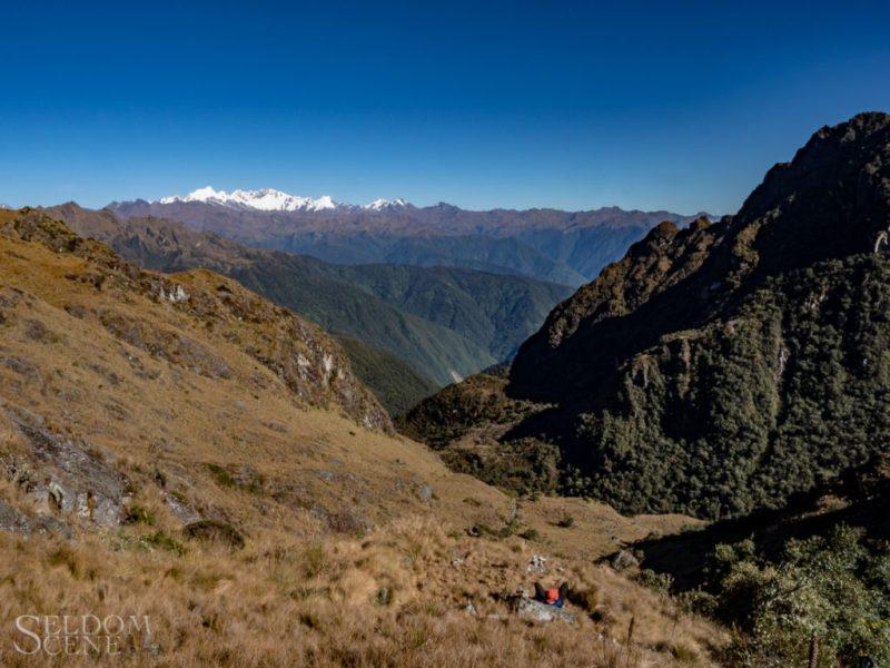Runkurakay Pass, looking west