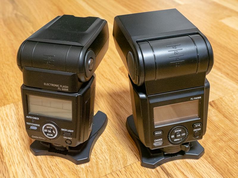 FL-600R and FL-700WR