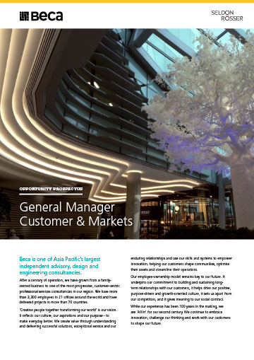 Seldon-Rosser-Beca-GM-Customer-Markets-Australia