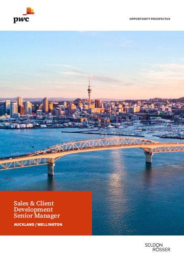 Seldon Rosser - PwC Sales and Client Development Senior Manager
