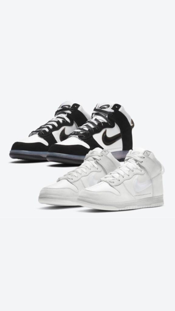 Slam Jam x Nike Dunk High « White/Clear Black »