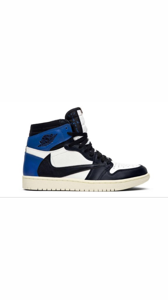 Travis Scott x Fragment Design x Air Jordan 1 High