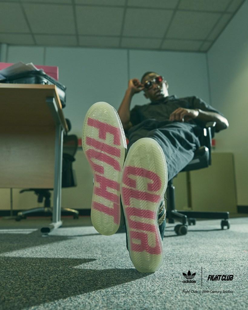 SIZE? x adidas Campus 80s « Fight Club »