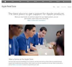 Apple Retail Store Genius Bar