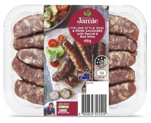 Italian-Style Veal and Pork Sausages with Fennel and Red Wine