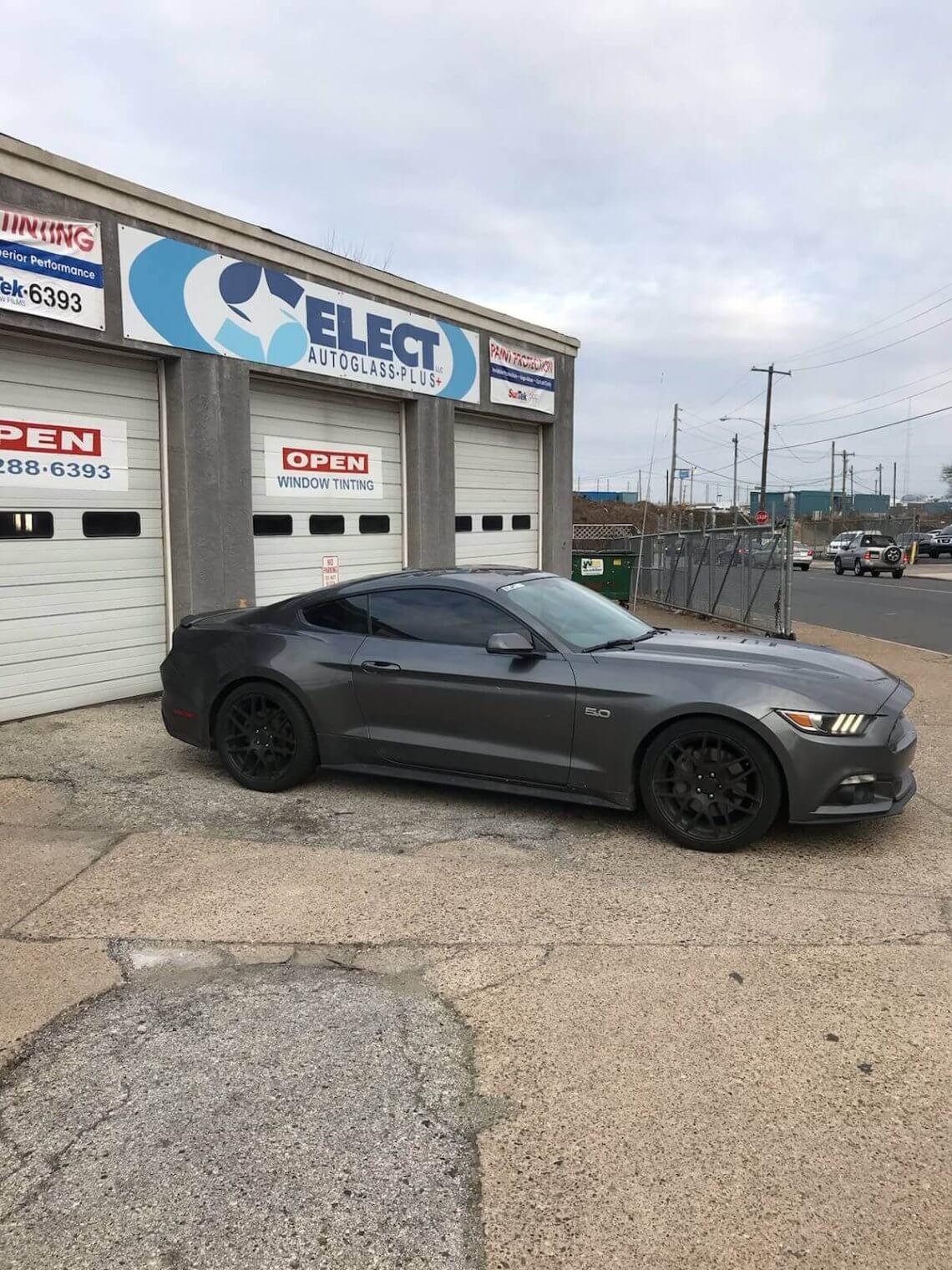 2016 Ford Mustang 15 Tint Select Autoglass Plus Llc