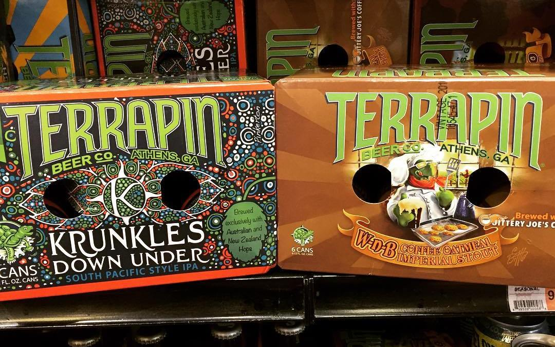 @terrapinbeerco Krunkles Down Under and Wake-n-Bake are both now in stock at our Perkins Rd…