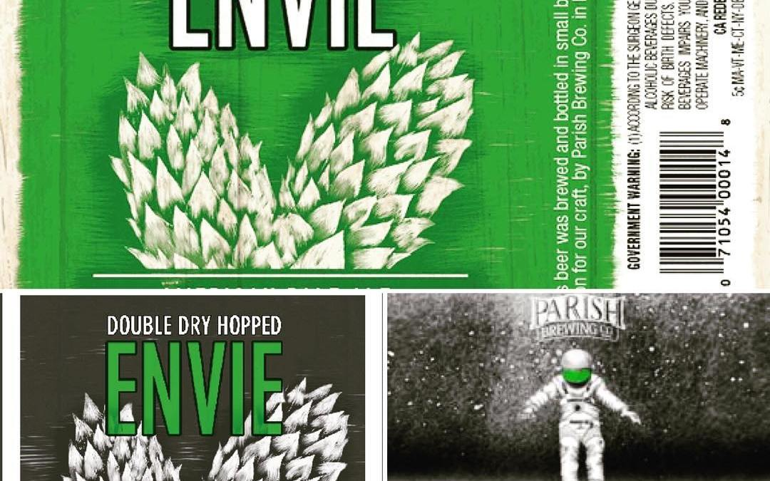 """This Friday, January 6th, we will be releasing the """"new yeast"""" @parishbrewingco Envie as well…"""