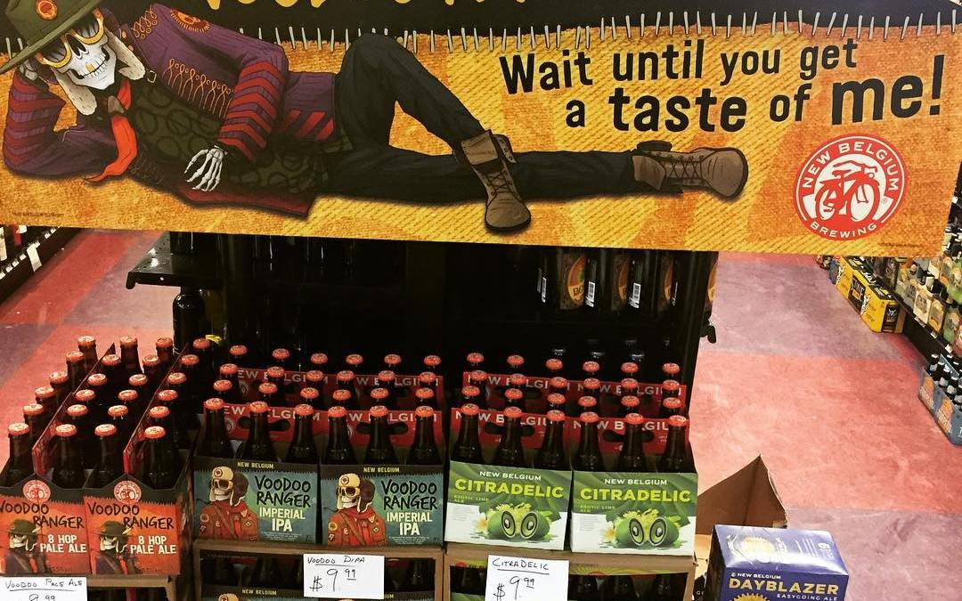 @newbelgium brand new beers are now in stock at our Perkins Rd location! #savage #voodoo…