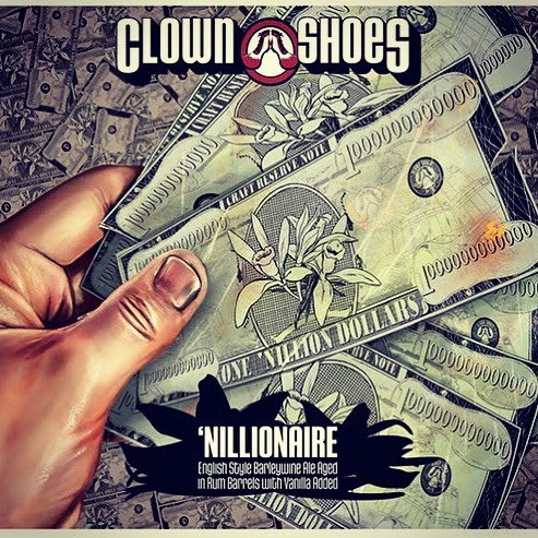 @clown_shoes_beer 'Nillionaire is now in stock at our Perkins Rd location! #beer #barleywineislife #rumbarrelaged #nilla…