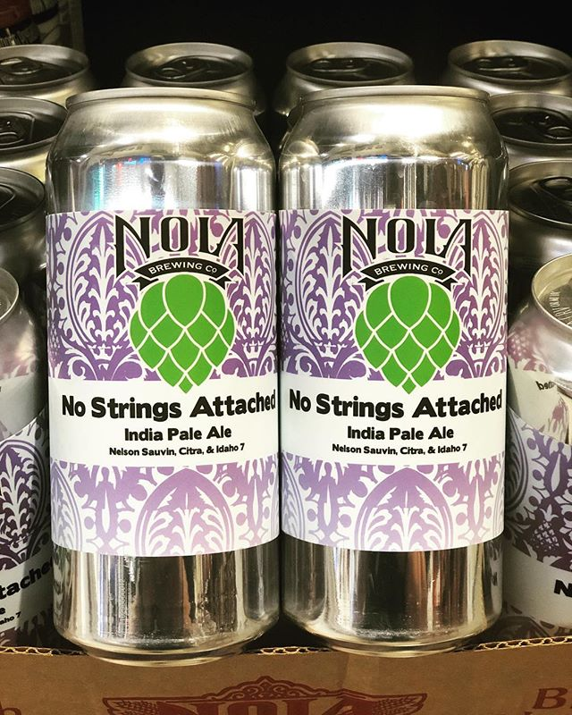 @nolabrewing No Strings Attached IPA is now in stock at our Perkins Rd location! VERY…