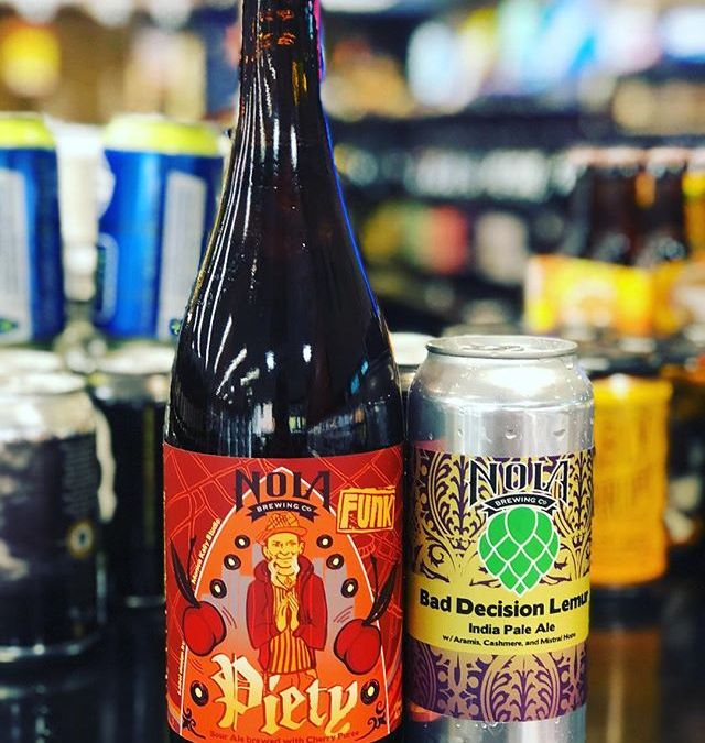 @nolabrewing Piety and Bad Decision Lemur are both now in stock at our Perkins Rd…