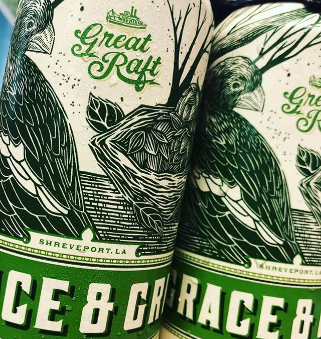 @greatraftbeer Grace and Grit is now available at our Government Street location! #beer #drinklocalbeer #freshhops…