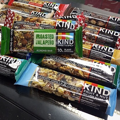 Be kind to yourself and come stock up on all your favorite #kindbars at Calandro's…
