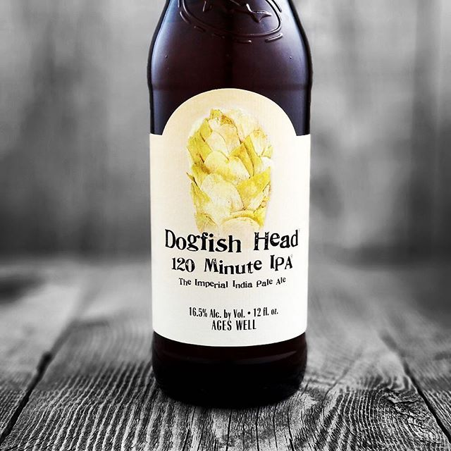 @dogfishhead 120 Minute IPA is now available at our #midcitybr location! #beer #drinkfreshorage #freshhops #120ipa