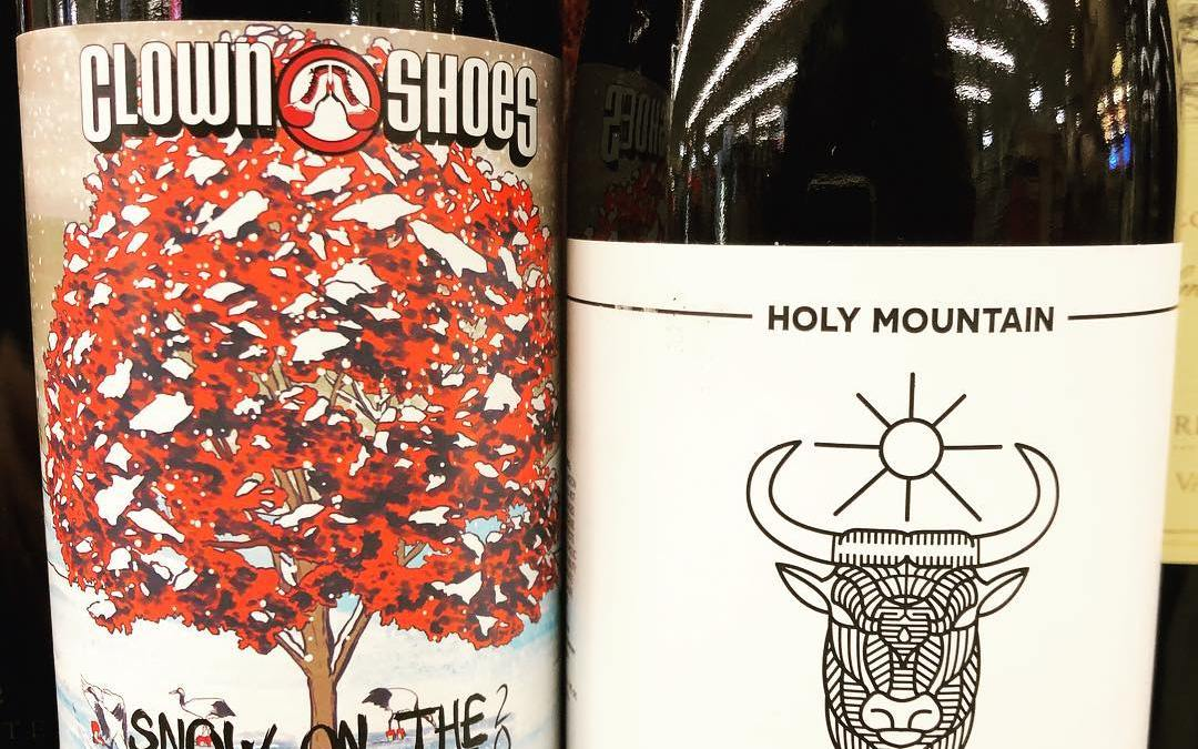 @clownshoesbeer Snow on the Maple Tree, Stout Aged in Maple Bourbon Barrels, and introducing a…