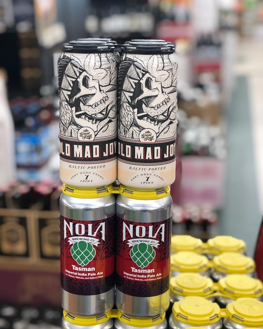 @greatraftbeer Old Mad Joy in CANS and @nolabrewing Tasman DIPA are now in stock at…