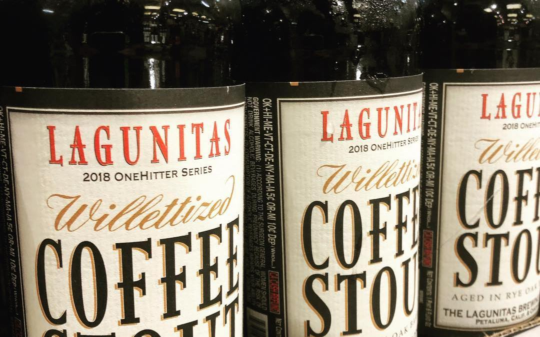 @lagunitasbeer Willittized, Coffee Stout Aged in Willett Rye Barrels, is now available at both locations!…