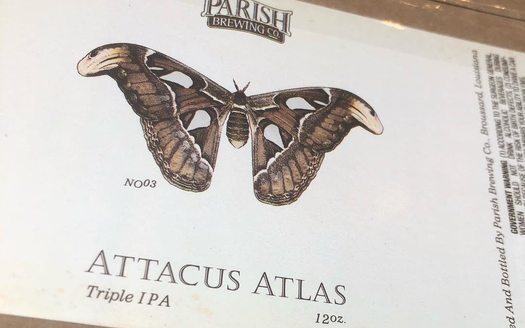 @parishbrewingco Atticus Atlas Triple IPA is now available at our Perkins Rd location! Limit 1…