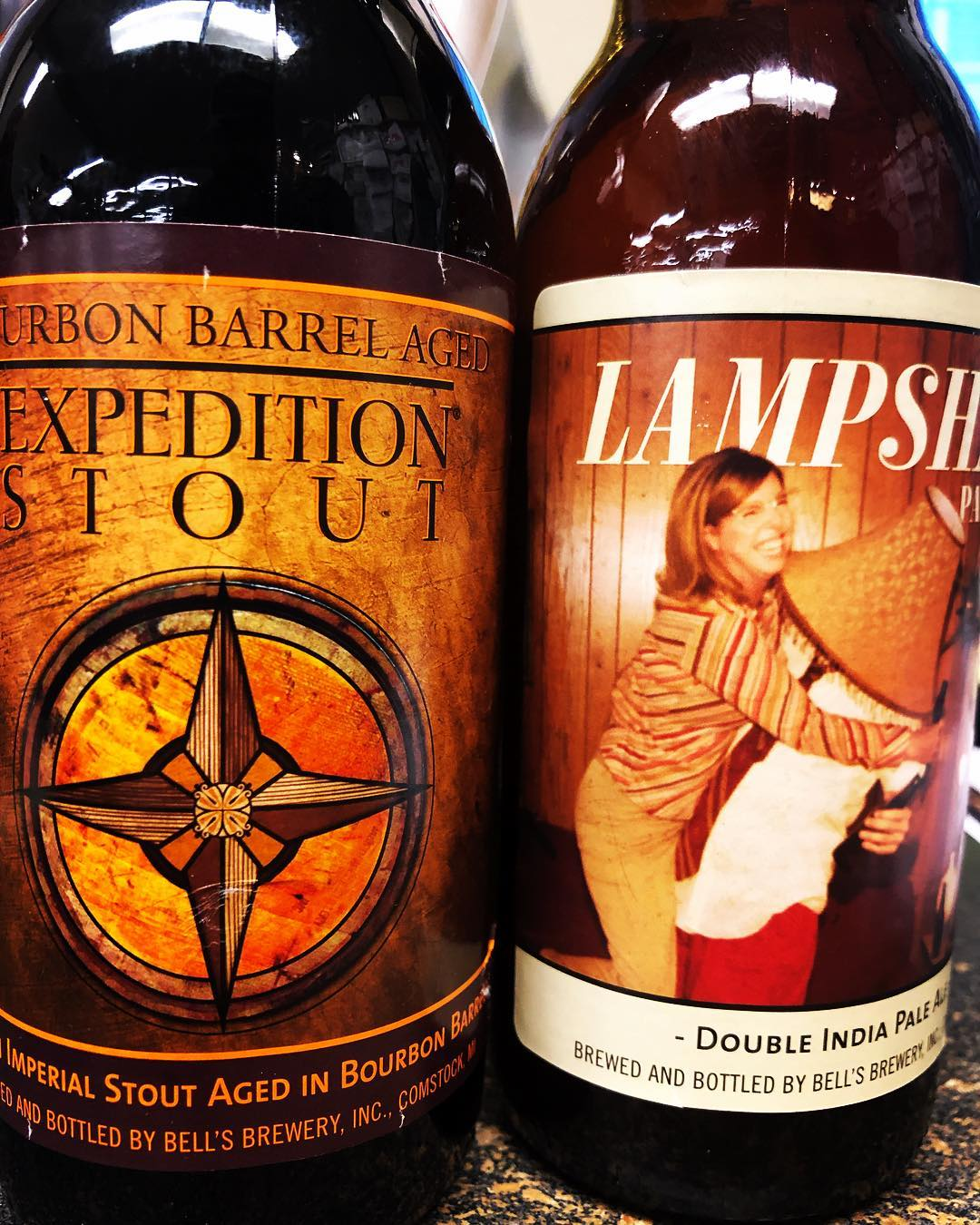 @bellsbrewery Bourbon Barrel Aged Expedition Stout and Lampshade DIPA are both now in stock at…