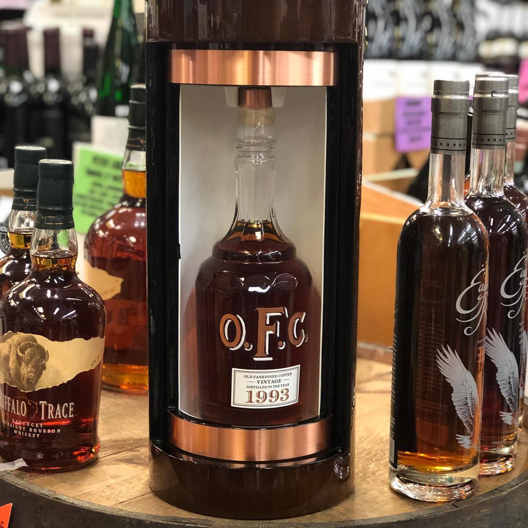 @buffalotrace O.F.C. 1993, distilled in 1993 and bottled in 2018, is available at our Perkins…