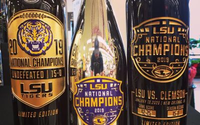 We have received the 2019 National Championship commemorative wines at our a Perkins Rd location!…