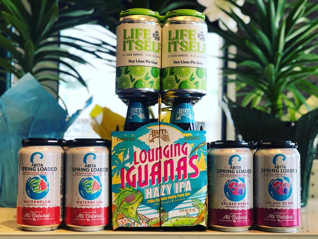 New brews now in stock for Easter Weekend at our Perkins Rd location! @abitabeer @greatraftbeer…