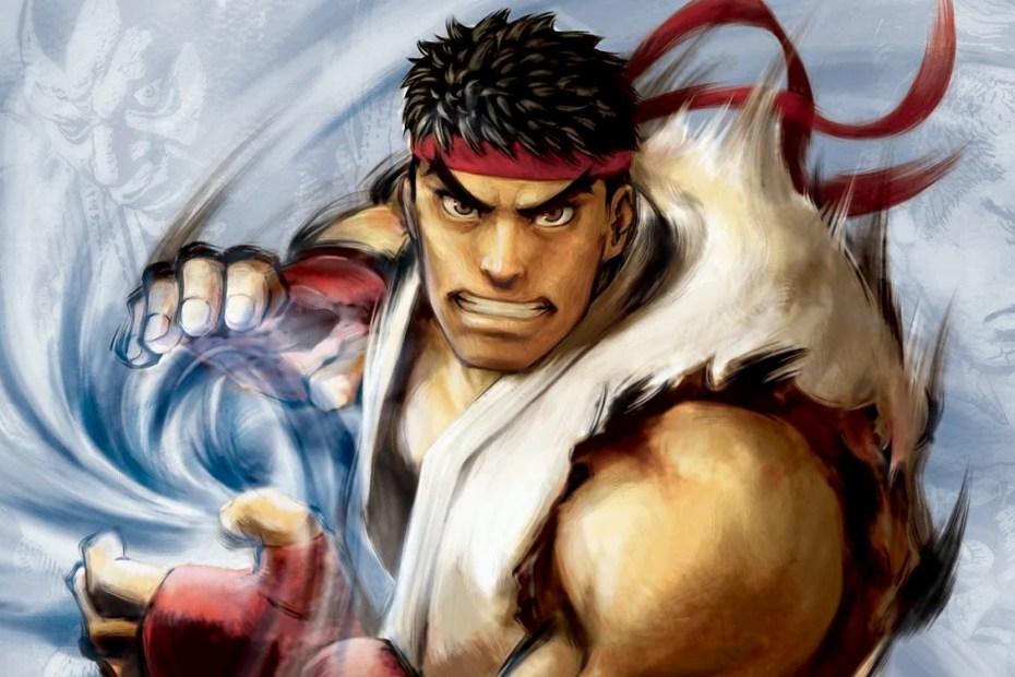 Street Fighter IV Ryu - KeyArt