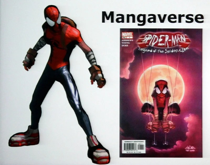Spider-Man Shattered Dimensions - Mangaverse