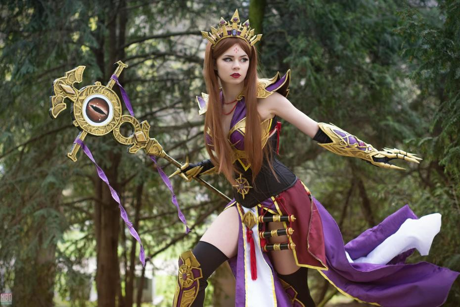 Cosplay de uma Arcanista - Diablo III Wizard - Por Arshania 08