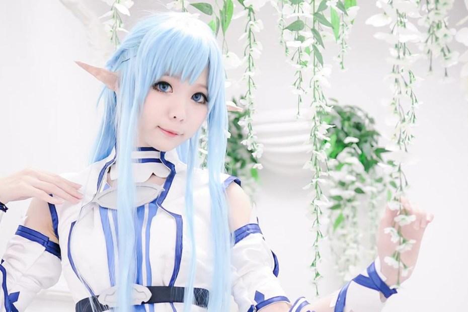 Cosplay Feminino da Asuna - Sword Art Online - Versão Undine - Capa 2
