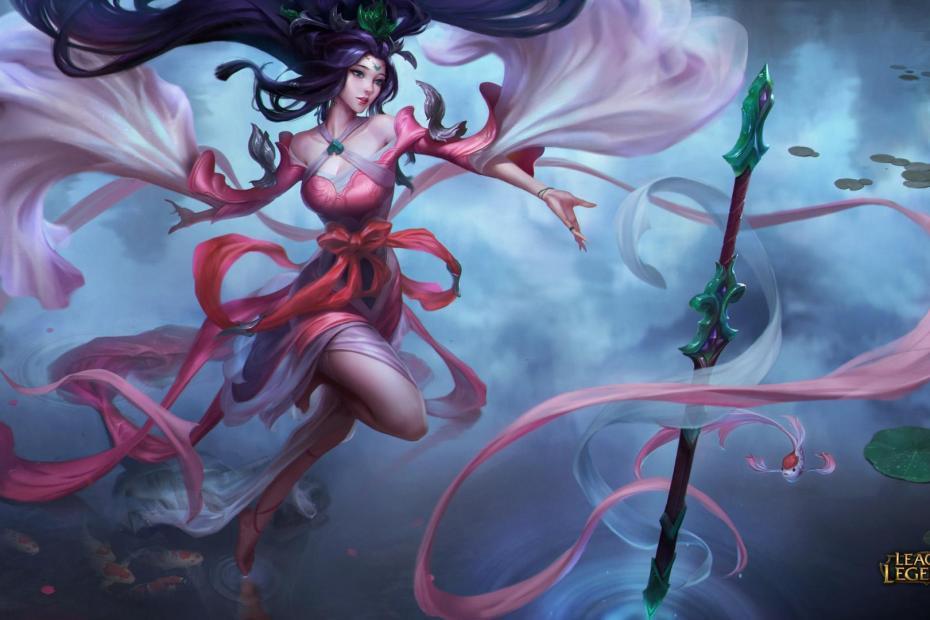 Janna Espada Sagrada - League of Legends