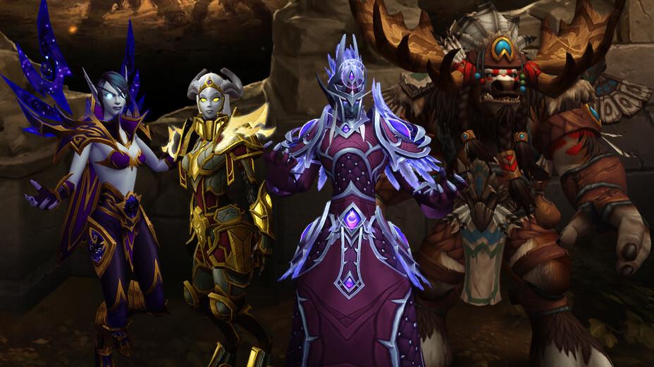 World of Warcraft - Raças Aliadas - Imagem