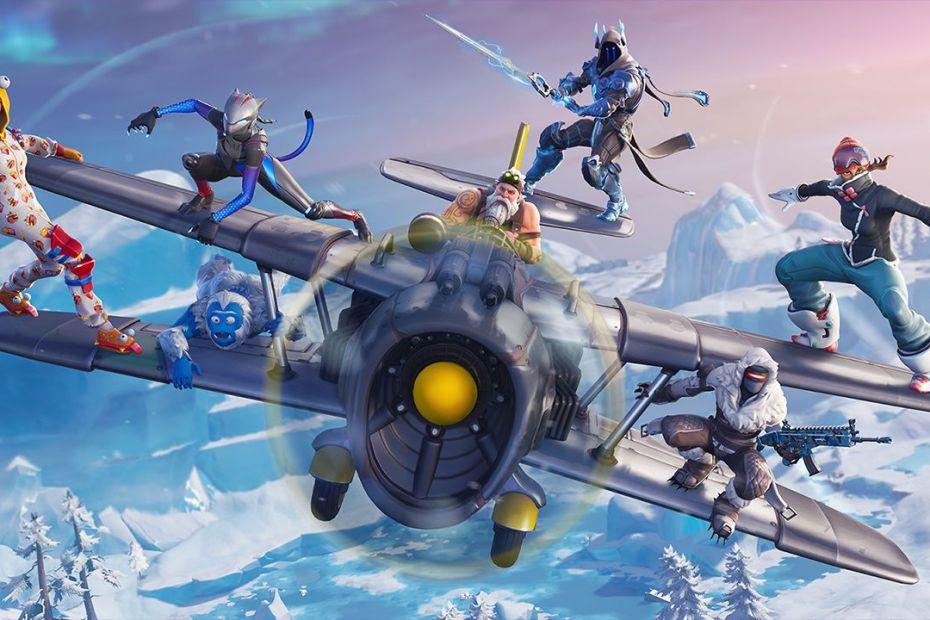 Sétima Temporada de Fortnite trouxe aviões para o jogo