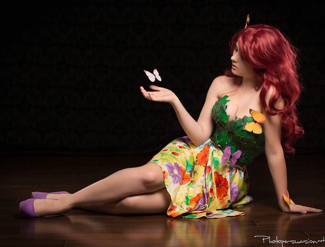 Cosplay da Hera Venenosa - Versão Primavera - 02