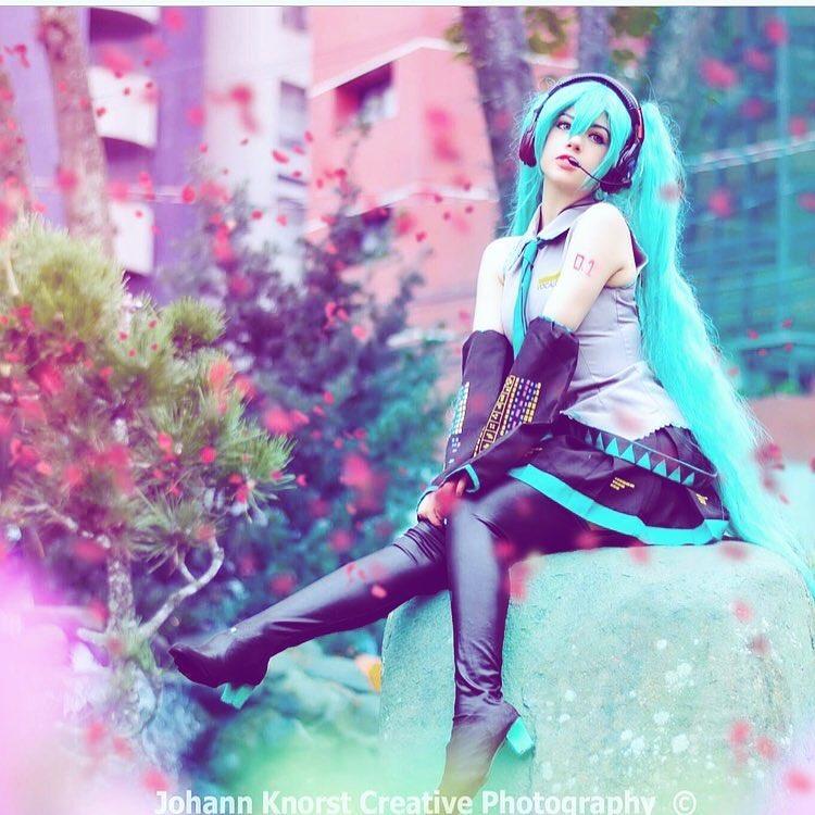 Hatsune Miku Vestido Cosplay