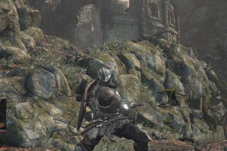 Dark Souls III Estrada dos Sacrifícios 1