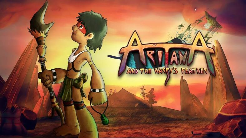 Aritana and the Harpy's Feather