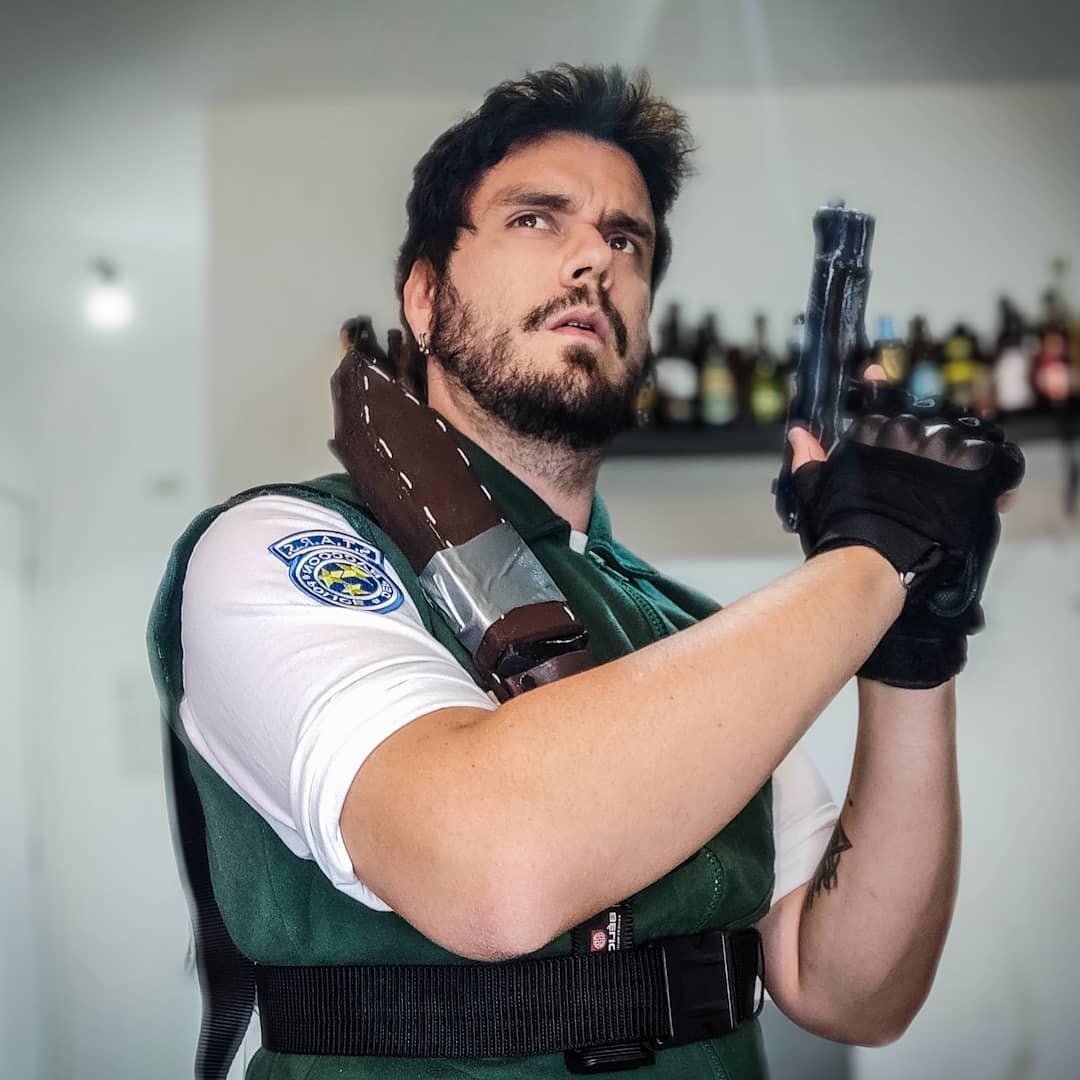 Chris Redfield Cosplay - Resident Evil - Foto 01