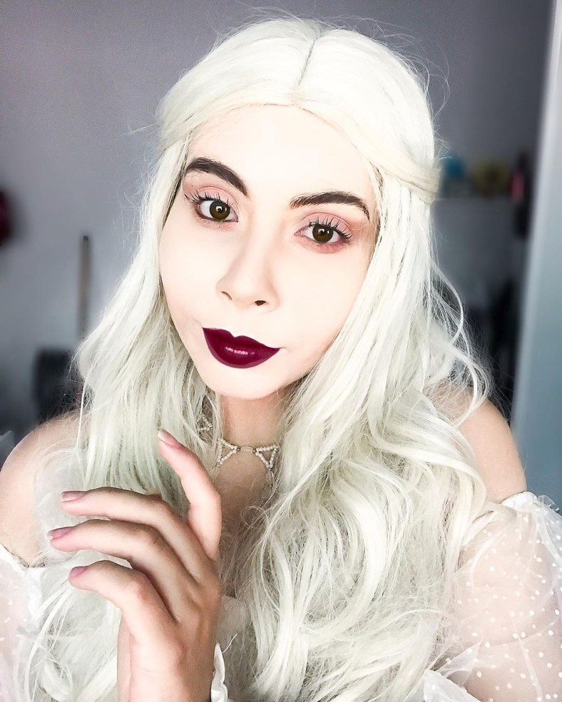 Cosplay da Rainha Branca - 01