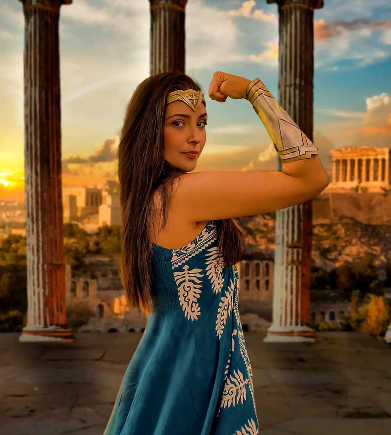 Day Cosplay Wonder Woman 03