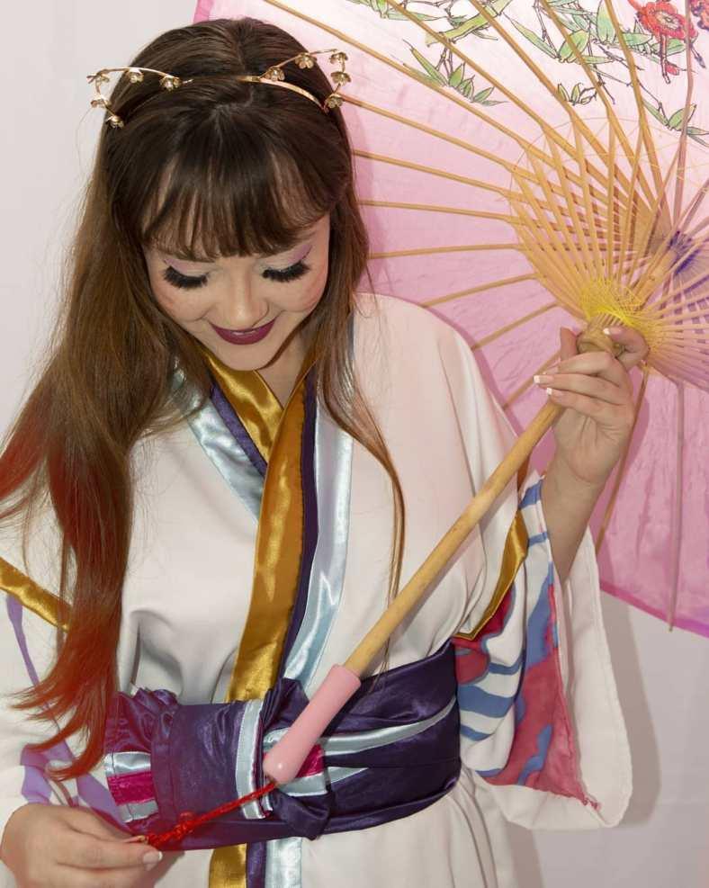 Kimono da Ahri Spirit Blossom - League of Legends - Cosmaker e Cosplay 07